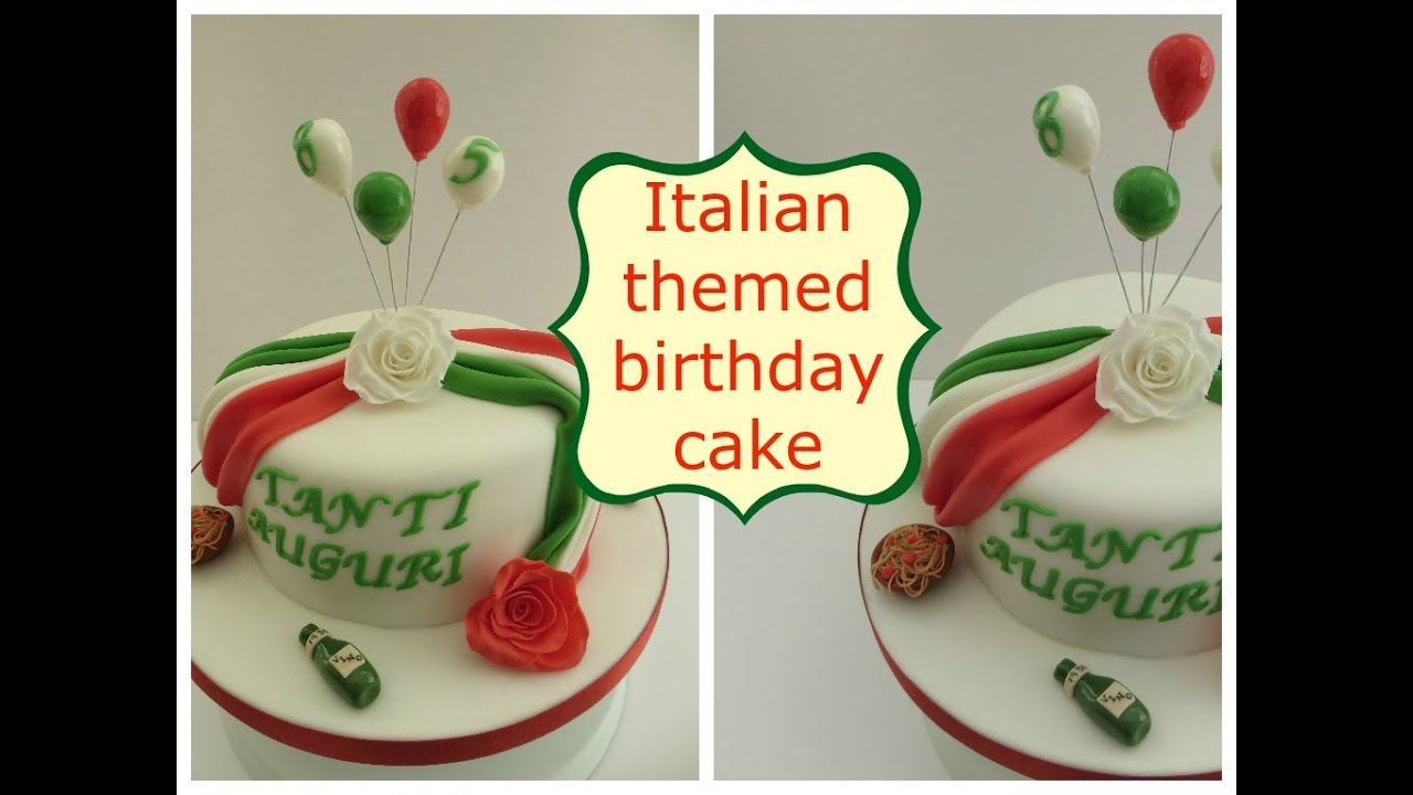 Italian Themed Cake Ideas