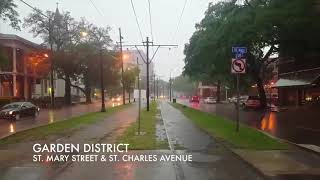 Watch as severe storms roll through New Orleans