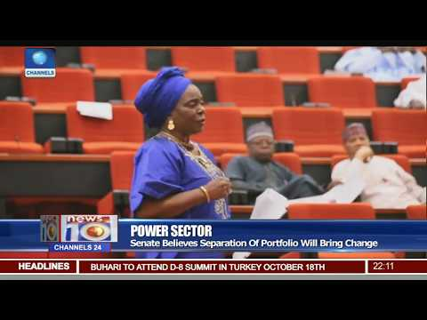 Senate Wants Separate Minister For Ministry Of Power Pt.1 |News@10| 17/10/17