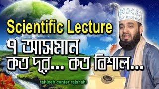 scientific lecture by mizanur rahaman azhari সাত আসমানের বিশালতা- মিজানুর রহমান আজহারী thumbnail