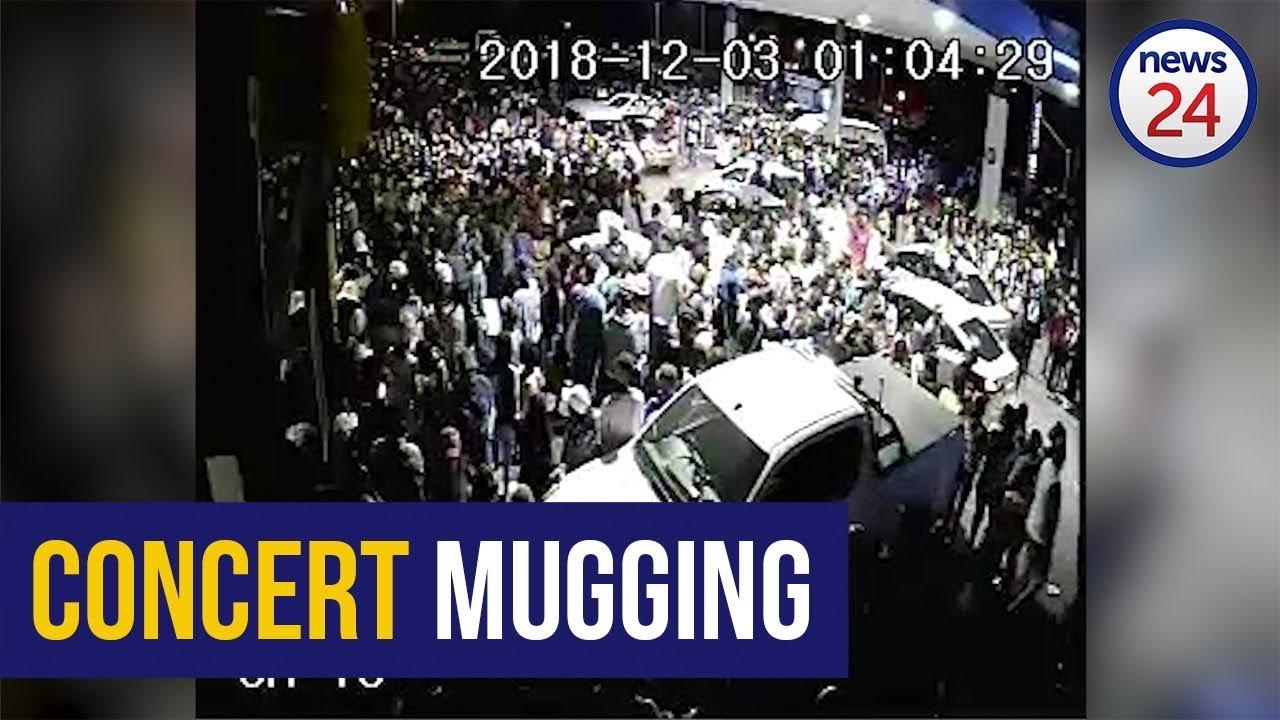 Watch Cctv Emerges Of Sasol Garage Chaos As Thugs Target Global