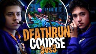 Deathrun course 3vs3 avec la Team Croûton sur Fortnite Créatif !