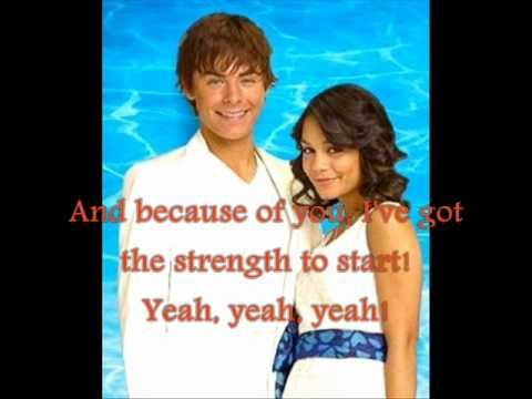 Troy und Gabriella - Everyday - lyrics