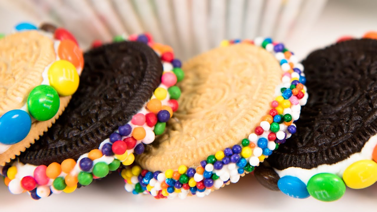 How to Make Decorated Oreos (No Bake) from Cookies ...