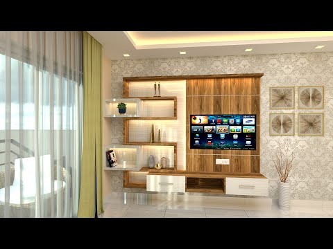 Modern TV Cabinet Design For Living Room | Latest TV Unit Design