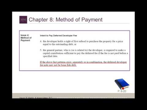 Understanding IRC §42 IRS Audit Technique Guide for Low Income Housing Tax  Credit SD clip19