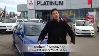 2015 Mitsubishi Lancer Ralliart Virtual Test Drive & Review | Calgary | Platinum Mitsubishi