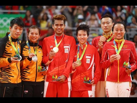Badminton mixed Doubles Final|Indonesia|Malaysia|China|Medal Winners-Rio2016!!!