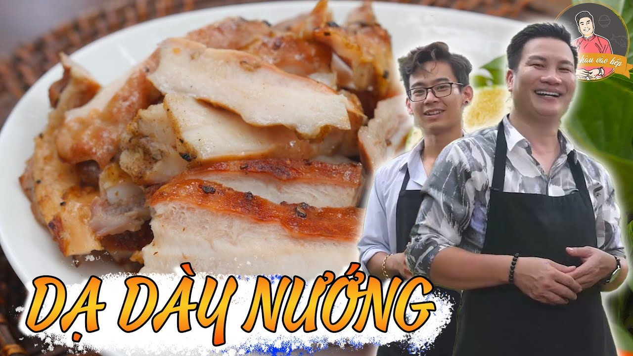 DẠ DÀY NƯỚNG, món ngon khó cưỡng cho những bữa tiệc BBQ