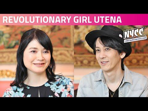 Revolutionary Girl Utena Manga Celebration   with Chiho Saito and Kunihiko Ikuhara
