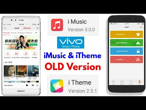 How to Get Previous Versions of iTheme, iMusic of VIVO Smartphones