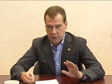 April 6, 2012 Russia_Medvedev visits mine in Russian Arctic