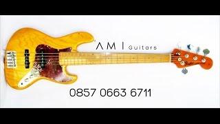 Jual Bass Fender Jazz Bass Senar 5 Murah Bonus Softcase Surabaya