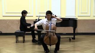 Andrew Byun Rachmaninoff Cello Sonata Op.19 : Andante