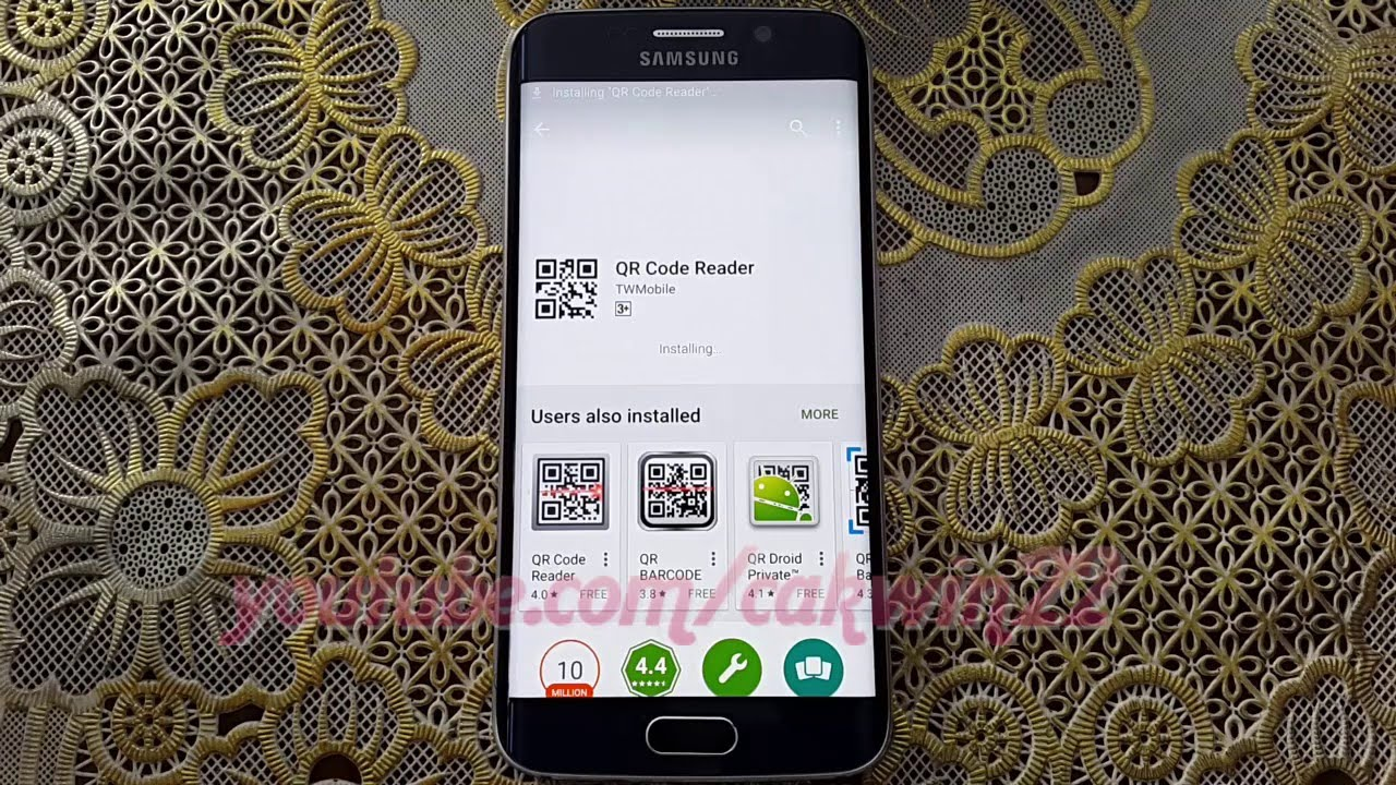 How to scan QR Code on Samsung Galaxy S6 or S6 Edge