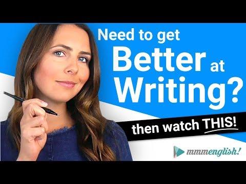 Write Better in English ?? Teacher's Tips!