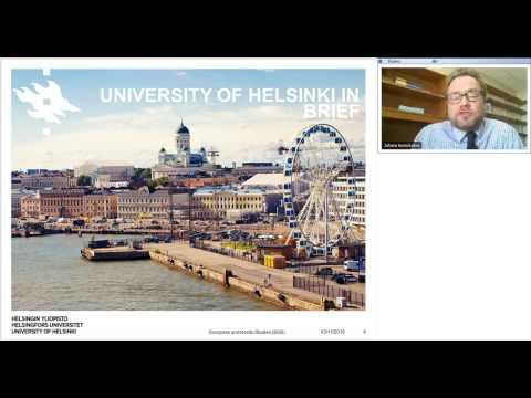 Webinar: Study European and Nordic Studies at the University of Helsinki, Finland!