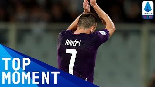 Superb finish from Ribéry kills off AC Milan | Milan 1-3 Fiorentina | Top Moment | Serie A