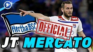 OFFICIEL : l'OL vend Lucas Tousart pour 25 M€ | Journal du Mercato
