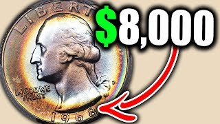 Скачать YOU 1968 QUARTERS COULD BE WORTH THOUSANDS OF DOLLARS ERROR QUARTERS WORTH MONEY