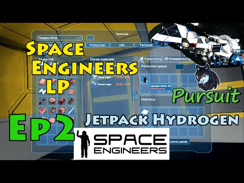 "Space Engineers Survival LP Ep2 ""Jetpack Hydrogen"" w/Serenity Firefly Appearance"