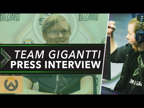 Team Gigantti on Winning Contenders, European Talent & the Future of Pro Overwatch | OW Esports