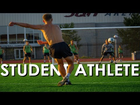 Day In The Life Of A D1 Soccer Player (MSU)