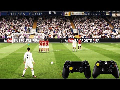 FIFA 17 Free Kick Tutorial | Xbox & Playstation | HD 1080p