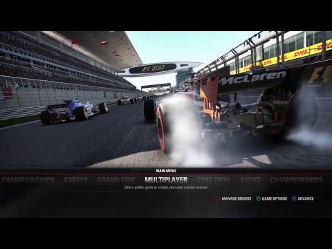 F1 2017 - AOR PS4 Evaluation Race #3