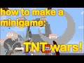 Minecraft - how to make a minigame: TNT wars!