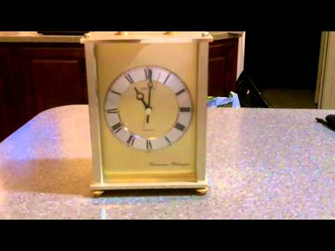 Seiko Westminister Whittington Mantel Clock