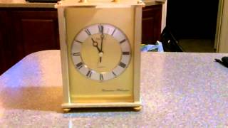 Seiko Westminister Whittington Mantel Clock