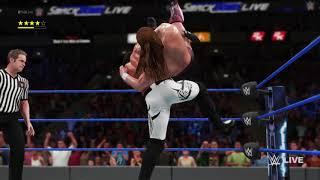 WWE 2K18 Daniel Bryan vs Aj Styles