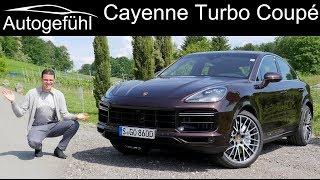 New Porsche Cayenne Turbo Coupé V8 FULL REVIEW with comparison SUV vs Coupé