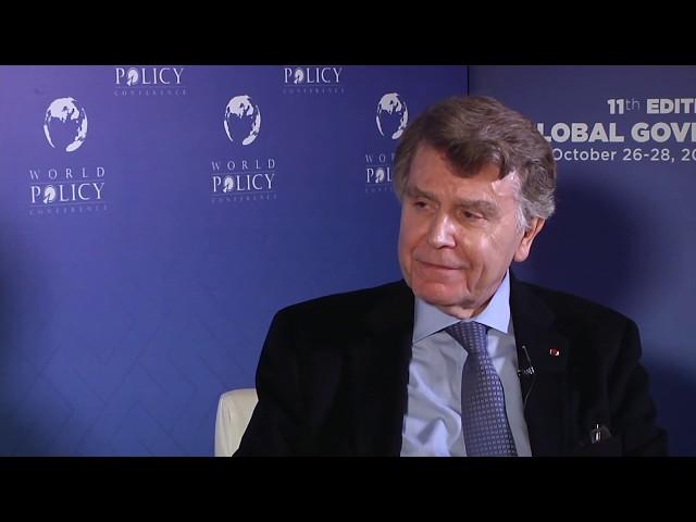 WPC 2018 - Thierry de Montbrial FR