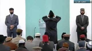 QADIANI khalid persenting juma 15 04 2011, Corruption among Muslim leadership and the solution clip0