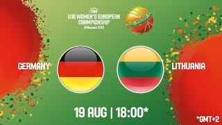 LIVE 🔴 - Germany v Lithuania - FIBA U16 Women