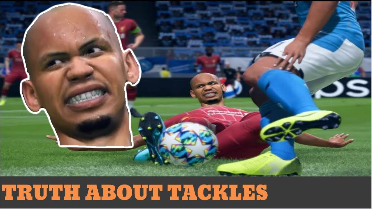 Tackling in FIFA is Broken - But it's Not What You'd Think