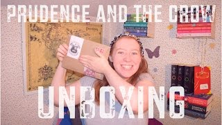 Prudence & The Crow UNBOXING