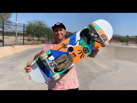 8.27 x 31.83 KNIBBS 'SEEKER' PRODUCT CHALLENGE w/ ANDREW CANNON! | Santa Cruz Skateboards