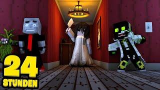 24 STUNDEN IM GRUSELHAUS ÜBERLEBEN?! - Minecraft [Deutsch/HD]
