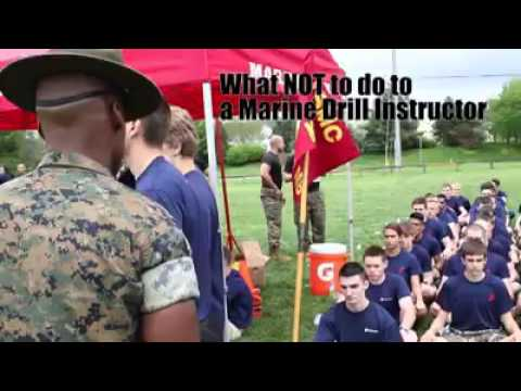 What NOT to say to a Marine drill instructor