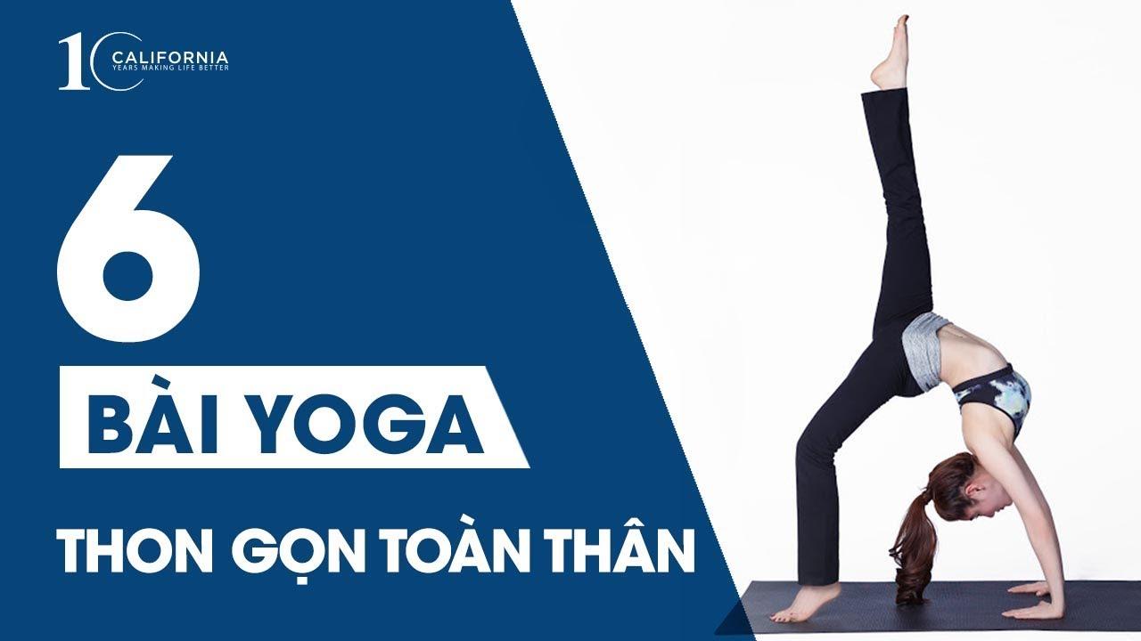 Download Yoga #2 - 6 bài tập Yoga tại nhà giúp thon gọn toàn thân | CFYC