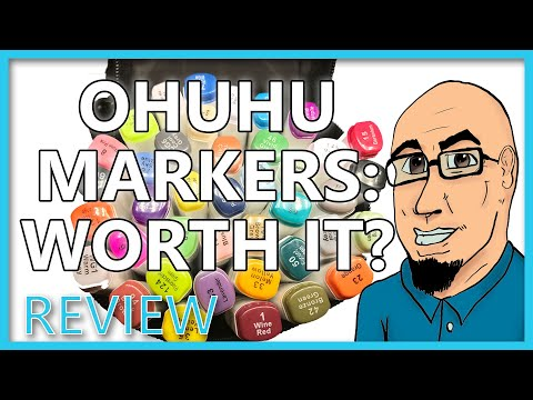 OHUHU Art MARKERS: Are they worth Buying?