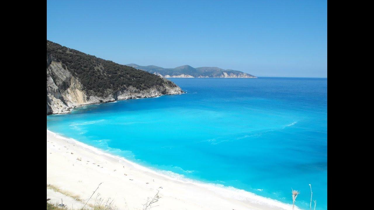 Myrtos beach, Kefalonia - YouTube