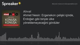 Ahmet Nesin: Ergenekon çelişki içinde, Erdoğan gibi biriyle ülke yönetilemeyeceğini gördüler