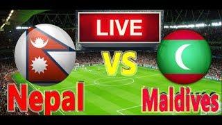 Nepal vs Maldives || SAFF Championship Football || LIVE ||