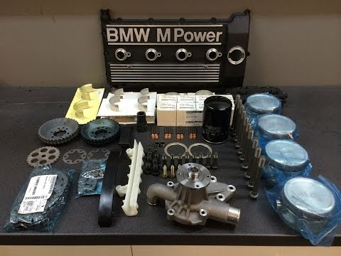 BMW E30 M3 S14 ENGINE REBUILD