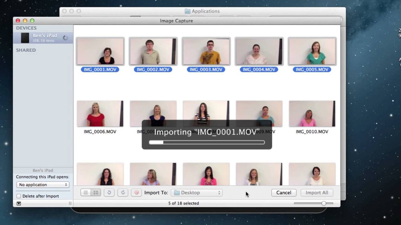 Iphoto in how videos to find
