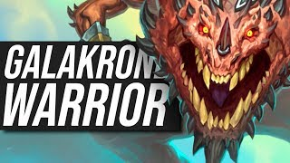 Chopping Fools Down With Galakrond Warrior!  | Standard | Hearthstone
